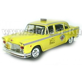Checker Taxi New York 1980 1:43 D43D0732