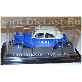 Citroen Traction 11 Saigon Taxi Cab 1955 Vietman 1:43 D43D1614