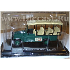 Toyota Bj Safari Park Taxi South Africa 1970 1:43 D43D1620