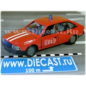 Azlk Moskvitch 2141 Aleko Russian Fire Brigade Chief 1:43 D43R1515