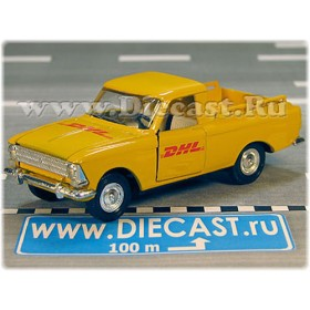 Azlk Moskvitch Pickup Russian DHL Express Postal Service 1:43 D43R1584