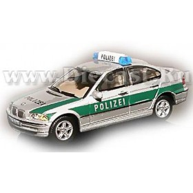 Bmw 328 Sedan German Police New Silver Color 1:72 D72H0814