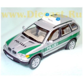 Bmw X5 German Police - Polizei Suv Type2 1:43 D43R0060