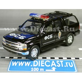 Chevrolet Suburban 2001 Russian FSB KGB Vehicle 1:43 D43W1398