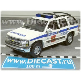 Chevrolet Tahoe Russian Moscow City Police Patrol SE 1:43 D43H0753