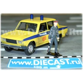 Russian Traffic Police Inspector Gai - Policeman Figure 1:43 D43R0586