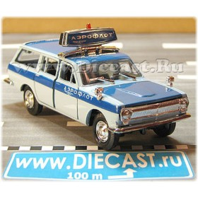 Gaz 2402 Volga Russian Airport Service Follow Me Vehicle 1:43 D43R1694