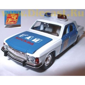 Gaz 3102 Volga Traffic Police Gai Moscow City 1:43 D43R0358