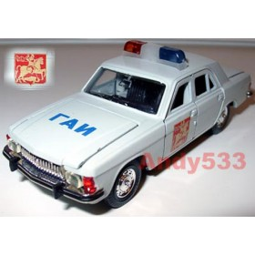 Gaz 3102 Volga Moscow City Traffic Police Interceptor 1:43 D43R0027