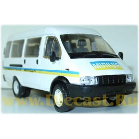 Gaz 3221 Gazelle Ukraine Criminal Police 1 Of 100 1:43 D43R0346