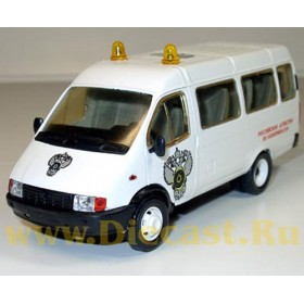 Gaz 3221 Gazelle Russian Weapons And Ammo Control Agency 1:43 D43R0369