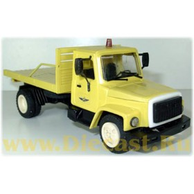 Gaz 3307 Russian Airport Service Luggage Truck Ver2 1:43 D43R0359