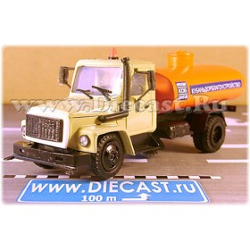 Gaz 3309 Recycling Street Cleaner Sweeper Garbage Truck 1:43 D43R1441