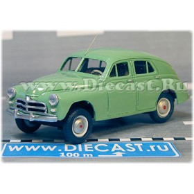 Gaz M 20 Pobeda Victory Pobieda 1955-1958 With Antenna Color Green 1:43 D43R1751