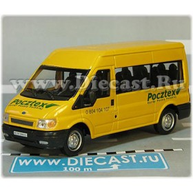 Ford Transit Van Poland Pocztex Express Post Mail Delivery 1:43 D43H1977