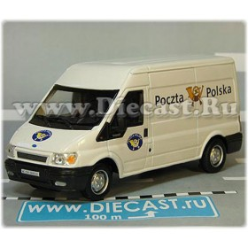 Ford Transit Van Poland Post Mail Delivery Panel Van 1:43 D43H1978