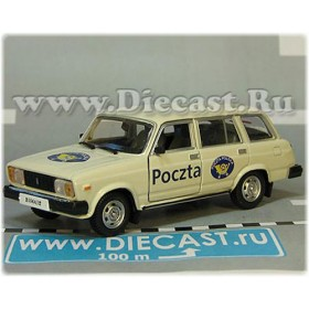Lada Vaz 2104 1500 Station Wagon Poland Post Mail Delivery 1:43 D43H1984