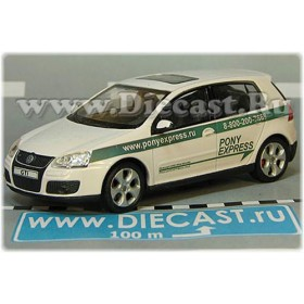 Volkswagen Golf Russian Pony Express Mail Delivery Postal Service 1:43 D43H1985