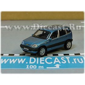 Lada Vaz 2123 Chevrolet Chevy Niva Awd 4x4 Color Blue 1:72 D72H1937