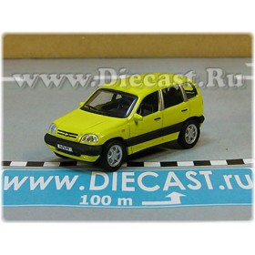 Lada Vaz 2123 Chevrolet Chevy Niva Awd 4x4 Color Yellow 1:72 D72H1938
