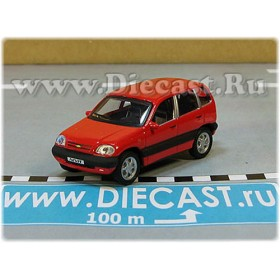 Lada Vaz 2123 Chevrolet Chevy Niva Awd 4x4 Color Red 1:72 D72H1939