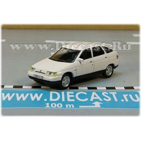 Lada Vaz 112 2112 Russian Hatchback 1998 Color White 1:72 D72H1890