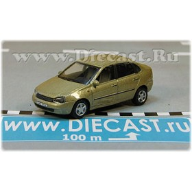 Lada Vaz 118 2118 Kalina Color Gold 1:72 D72H1891