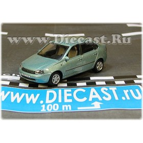Lada Vaz 118 2118 Kalina Color Light Blue 1:72 D72H1893