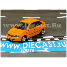 Lada Vaz 118 2118 Kalina Color Orange 1:72 D72H1894