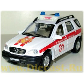 Mercedes Benz M Class Ml 320 Russian Fire Guard 1:43 D43H0324