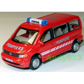 Mercedes Benz Vito France Pompiers Firefighters Van 1:72 D72H0299