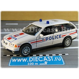 Bmw 325i Touring French Police Patrol France 2001 1:32 D32H1769