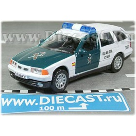 Bmw 325 Wagon Spanish Police Guardia Civil 2004 1:43 D43H1139