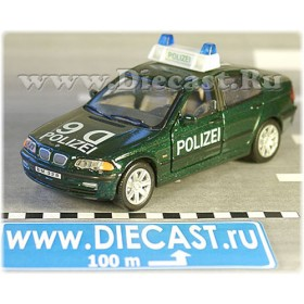 Bmw 328 German Police Patrol Polizei 1:43 D43H1445