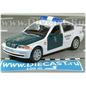 Bmw 3 SEries Sedan 328i Spanish Police Guardia Civil 2003 1:43 D43H1130