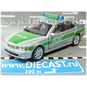 Bmw 525 German Police Polizei 2001 1:43 D43H0952