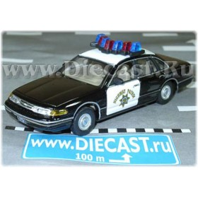 Ford Crown Victoria California Highway Patrol Chp Police USA 1:43 D43H0765
