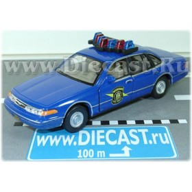 Ford Crown Victoria Interceptor Michigan State Police USA 1:43 D43H0766
