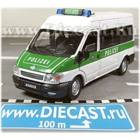 Ford Transit Van German Police Polizei 1:43 D43H0970
