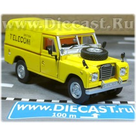 Land Rover SEries III 109 Uk British Telecom Suv 1:43 D43H0773