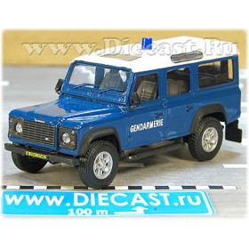 Land Rover Defender French Police Gendarmerie 4x4 Suv 1:43 D43H1631