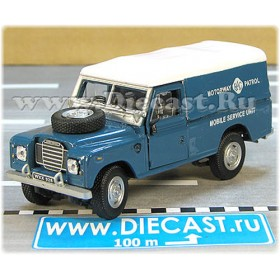Land Rover SEries III 109 Uk Motorway Patrol Rac 4x4 Suv 1:43 D43H1633
