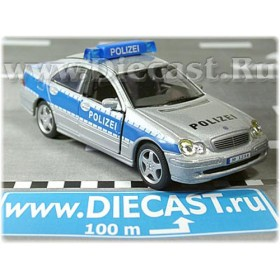 Mercedes Benz C Class Gamburg Police Polizei Germany 1:43 D43H0953