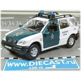 Mercedes Benz M Class Ml 320 Spanish Police Guardia Civil 1:43 D43H1148