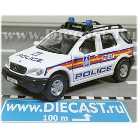 Mercedes Benz M Class Ml 320 Suv British Police Patrol Uk 2003 1 1:43 D43H1134