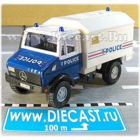 Mercedes Benz Unimog French Police Truck 1:43 D43R0090
