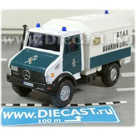 Mercedes Benz Unimog Spanish Police Guardia Civil 2000 1:43 D43H1135