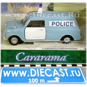 Mini Panel Van Police United Kingdom 1960s 1:43 D43H1530