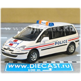 Peugeot 807 Minibus French Police Patrol 1:43 D43H1642