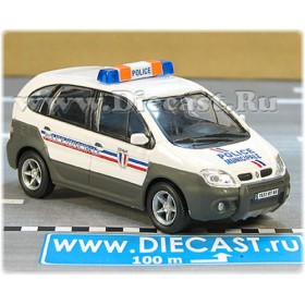 Renault Scenic Rx4 French Police Municipale 1:43 D43H1648